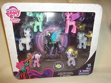 My Little Pony TRU Favorite Collection Queen Chrysalis Derpy Diamond brushable