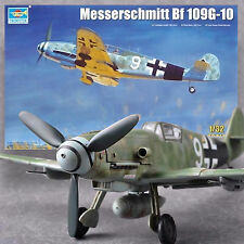TRUMPETER 1/32 MESSERSCHMITT BF-109G-10 *DETAILED, COMPLETE ENGINE *BEST KIT