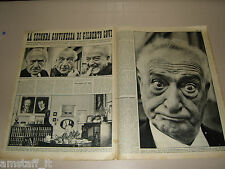 GILBERTO GOVI attore clipping ritaglio articolo foto fotografia 1959