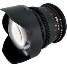 Rokinon RO1031C 10mm T3.1 Cine Lens for Canon EF Mount - Great for Ursa Mini!