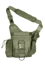 US ADVANCED Army Outdoor TACTICAL Combat SHOULDER HIP BAG Schulter tasche COYOTE