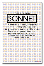 Sonnet - New Classroom Reading and Writing Poster