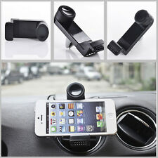 360 Rotate Car Auto Air Vent Phone Bracket Black Holder Mount for iPhone 5 5s 6