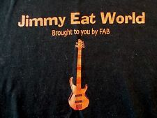 Mens (L) JIMMY EAT WORLD Event Security SS Black Graphic T-Shirt