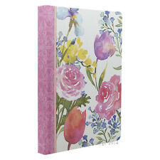 Punch Studio Lady Jayne Flowers Painting Journal Diary Notebook Hard Cover