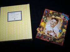 "NEW RUSS ""Set inTime"" Photo Frame Antique Toys for Boys 3.5 x 5 Train ball dice"