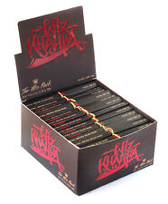 1 box - WIZ KHALIFA new RAW CONNOISSEUR King size Hemp Rolling paper + TIPS