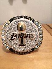 Lakers 2009 Championship Paperweight Ring Kobe Vs Orlando Magic