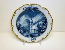 1973 DRESDEN CHRISTMAS HOLY NIGHT LIMITED EDITION SERIES COLLECTOR'S PLATE GERM