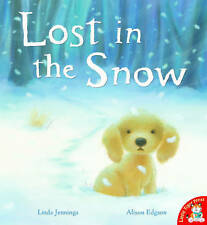 Preschool Christmas Story Book: LOST IN THE SNOW - Large Paperback - NEW
