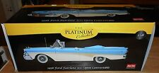 SUNSTAR PLATINUM 1:18 DIECAST 1958 FORD FAIRLANE 500 OPEN CONVERTIBLE W ORIG BOX