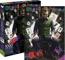 The Joker Heath Ledger DC 1000 piece jigsaw puzzle 690mm x 510mm (nm)