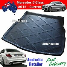 Mercedes Benz C-Class Sedan Boot Liner Cargo Mat Trunk Protector 2015-Current