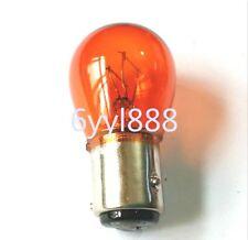10x Amber BAZ15D 1157 12V Automotive halogen bulbs Brake Backup Tail Stop Lights