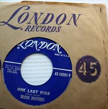 BROOK BROTHERS One last kiss Ain't gonno wait for a week 1961 MOD Beat 45 e6048