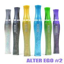6 Kleancolor Alter Ego Eye Mascara Glitter - White Silver Gold Blue Green Lilac