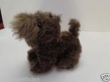 """WIZARD OF OZ 7"""" HAIRY TOTO SOFT GRAY CAIN TERRIOR PUPPY DOG 1999 RUBIES"""