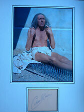 CARDEW ROBINSON - COMEDY FILM ACTOR - SUPERB SIGNED COLOUR PHOTO DISPLAY