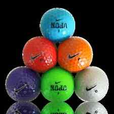 36 NIKE COLOR MIX AAAA/NEAR MINT USED GOLF BALLS