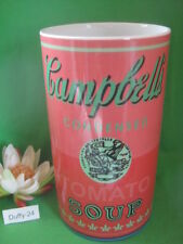 Vase  30 cm Red Campbell s Soup  Andy Warhol von Rosenthal