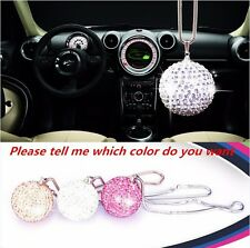 Ablaze Crystal Ball Car Mirror Pendant Interior Jewelry Decor Hanging Ornament