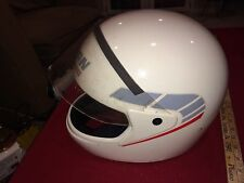 Vintage Nolan N 24 Motorcycle Full Face Helmet Italy Large White