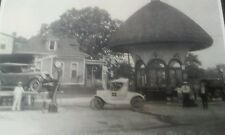 Gay Oil Co. Little Rock Ark. Gas Station Early Photocopy