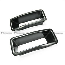FRP Fiber Glass Front Bumper Vent Air Duct Fit For Nissan R32 GTR Nism N1 Style