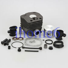 52mm Cylinder Piston Pin intake manifold kit For Husqvarna 362 365 371 372 372XP