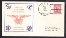 WWII Minesweeper USS OSPREY AM-56 COMMISSIONING 1940 Naval Cover