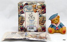 Cherished Teddies Marty 1998 I'll Always Be There For You 476722 Boy Sailor Suit