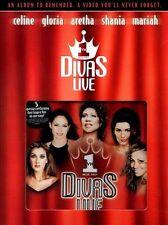 Various Artists : Vh1 Divas Live CD/VHS SET! ULTRA RARE! BRAND NEW! ONLY ONE!!