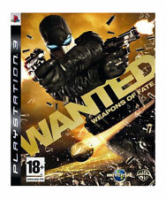 Wanted Weapons of Fate PS3 NEW and Sealed Sony PlayStation 3, 2009