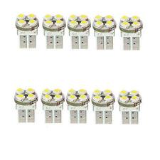 10pcs Pure White T10 194 W5W 4 LED Wedge SMD SMT HID Bulb Light Lamp 12V peUS