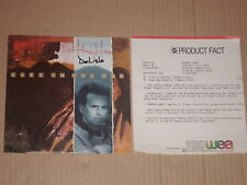 "HOWARD JONES -Life In One Day- 7"" mit Product Facts Promo-Flyer"