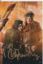 STEPHEN FRY HAND SIGNED THE HOBBIT 6X4 PHOTO.