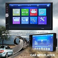 "HD 2Din 7"" Bluetooth Touch Car MP3/MP5 Player In-Dash Stereo Radio iPod 7012B TR"