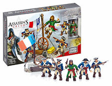 MEGA BLOKS ASSASSINS CREED FRENCH REVOLUTION PACK #CNK24 98 PIECES NEW IN BOX
