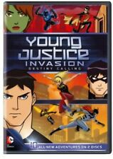 Young Justice: Invasion - Destiny Calling [2 Discs] (2013, DVD NEUF)
