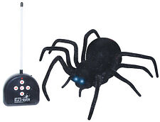 Remote Control Black Widow Spider Halloween Prop Decoration NEW