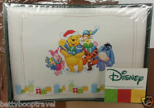 Winnie the Pooh Piglet Eeyore Tigger Box of 10 Vintage Holiday Greeting Cards