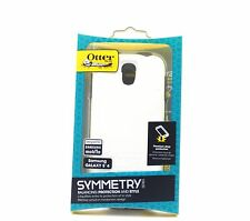 OTTERBOX SYMMETRY SERIES SAMSUNG GALAXY S4 TOUGH CASE COVER - WHITE/GLACIER