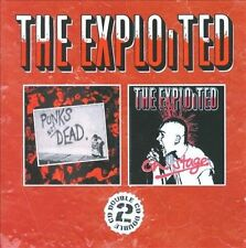 Punk's Not Dead/On Stage by The Exploited (CD, Nov-2008, 2 Discs, Anagram (UK))