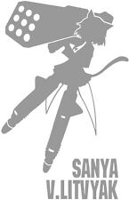 Strike Witches Sanya V Litvyak character decal