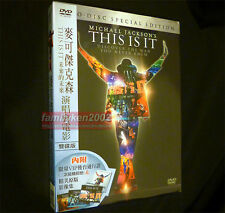 Taiwan Special 4-Cards + 2-DVD Pack w/OBI NEW! Michael Jackson This Is It xscape