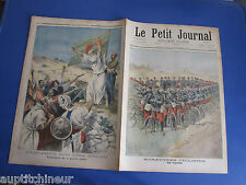 Le petit journal 1897 359 Manoeuvres cyclistes Guerre sainte Inde anglaise