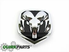 13-17 Dodge Ram 2500 3500 FRONT GRILLE CHROME RAMS HEAD BADGE EMBLEM NEW MOPAR