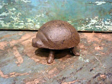 Cast Iron Brown Ladybug Insect Home Garden Yard Lawn Outdoor Plant Patio Decor