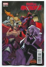 AGE OF APOCALYPSE #3 - VARIANT COVER BY ROBBI RODRIGUEZ - MARVEL COMICS 1/25