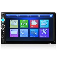 HD 7inch Bluetooth In-Dash Car Audio Stereo Touch Screen MP5 Player USB FM Radio